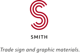 Smith. Trade sign and graphic materials.