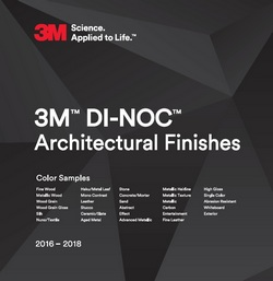 A thumbnail graphic of the 3M Architectural Finishes brochurejpg
